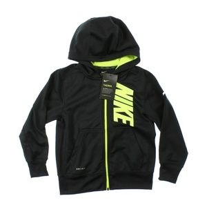 Nike Therma-Fit KO Graphic Full Zip Hoodie Black